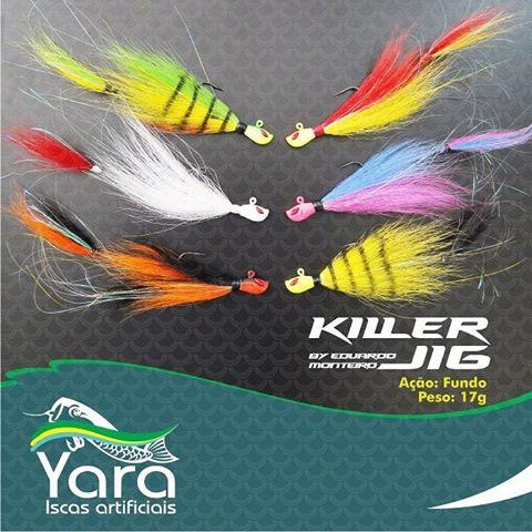 Isca Yara Killer Jig by Eduardo Monteiro (6/0 - 17grs)  - Comprando & Pescando