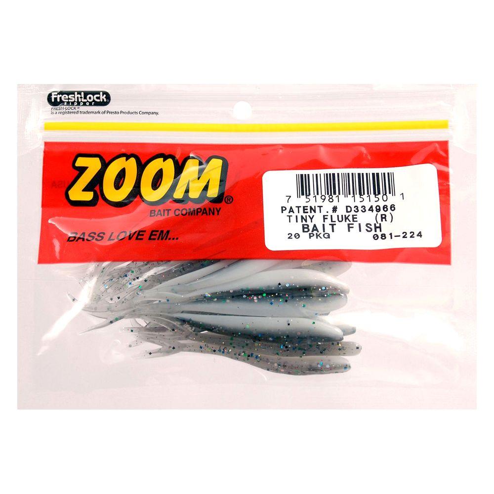 Isca Zoom Tiny Fluke  - Comprando & Pescando