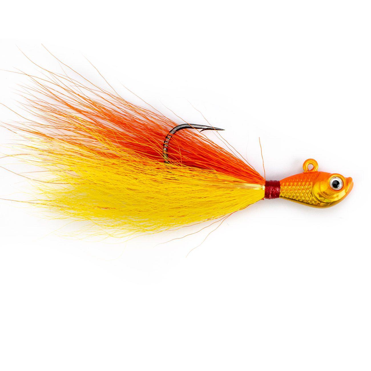 Jig Pro-Tsuri Cichla 4/0 15grs Bucktail Simples  - Comprando & Pescando
