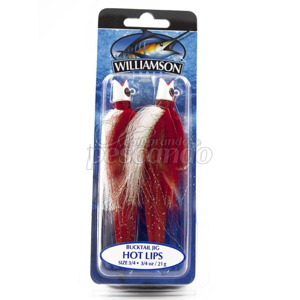 Jig Williamson Hot Lips 21g  - Comprando & Pescando