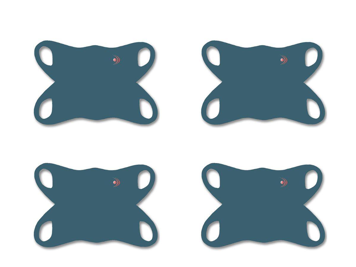 Kit 4 Máscaras de Proteção Reutilizável Fishing Co  - Comprando & Pescando