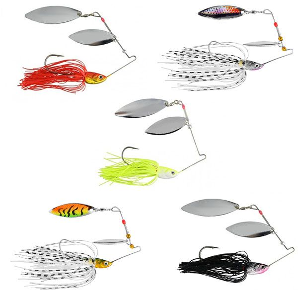 Kit 5 Spinner Bait Albatroz LQ-9145 17grs  - Comprando & Pescando