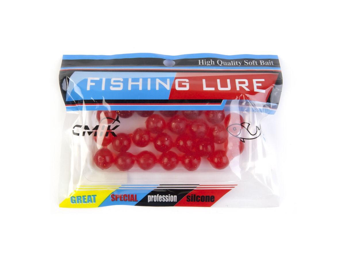Kit com 25 Iscas Bolas Soft (Grande)  - Comprando & Pescando
