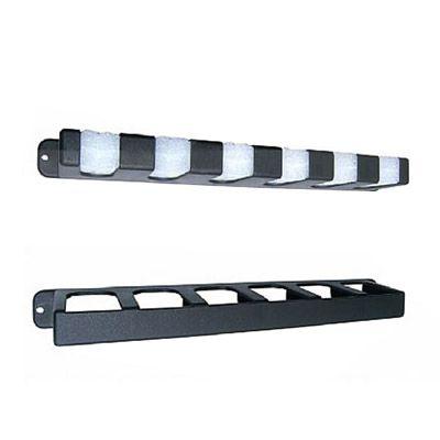 Kit com 3 Expositores de Varas de parede - Stick Rack (para 6 varas)  - Comprando & Pescando