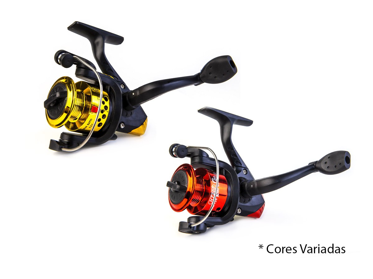 Kit De Pesca Completo C/ 2 Varas + 2 Molinetes + Acessórios  - Comprando & Pescando