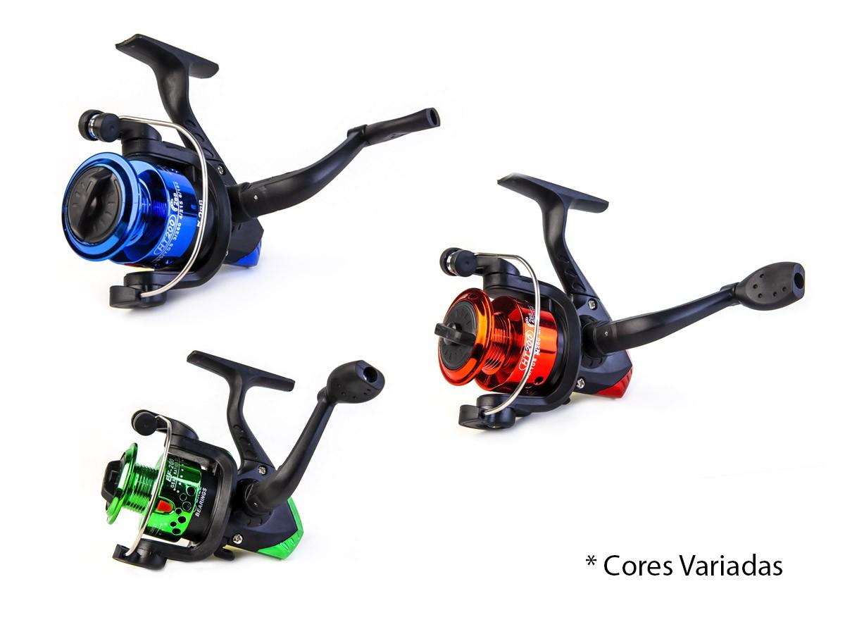 Kit De Pesca Completo C/ 3 Varas + 3 Molinetes + Acessórios  - Comprando & Pescando