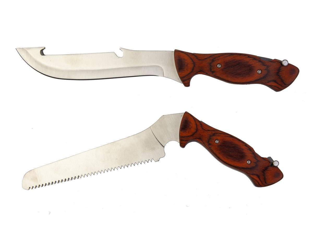 Kit Faca c/ 4 lâminas removíveis Multiuso  - Comprando & Pescando
