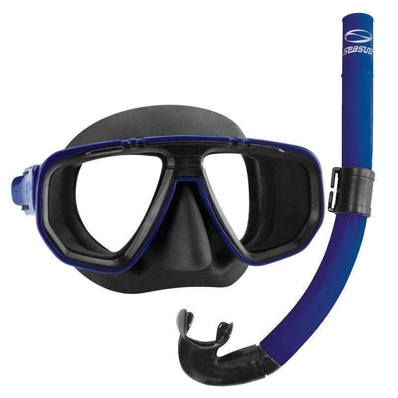 3c5dec25e Kit Mergulho Seasub Máscara e Snorkel Dua - Comprando & Pescando ...