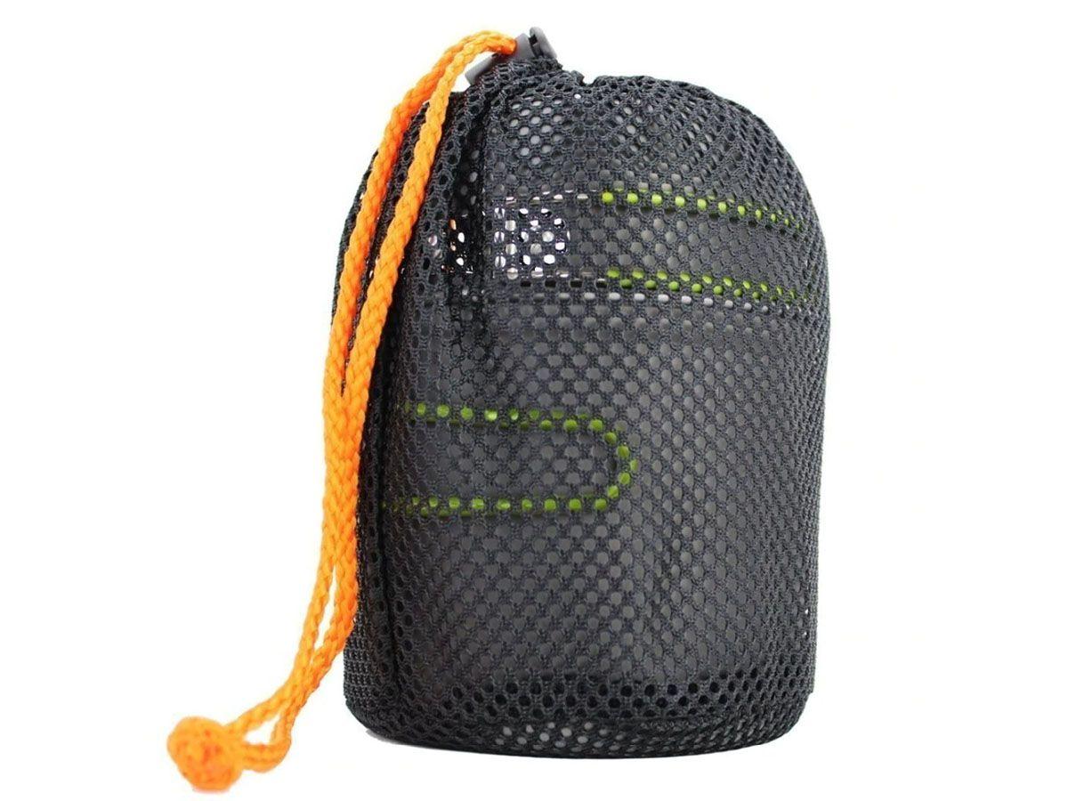 Kit Panelas Camping Outdoor DS-101 + Canivete Talher  - Comprando & Pescando