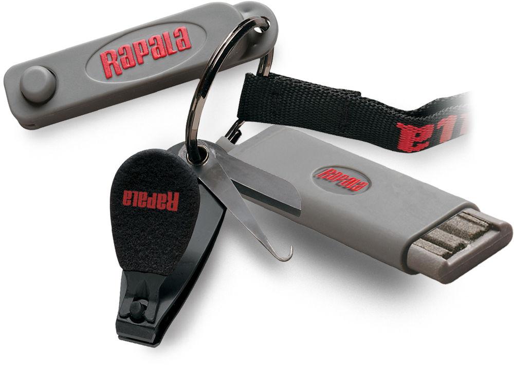 Kit Rapala Combo Clipper (cortador de linha, furador e afiador)  - Comprando & Pescando