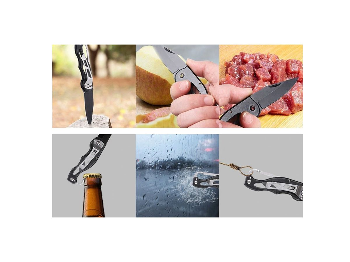 Kit Sobrevivência De Emergência 11-em-1   - Comprando & Pescando