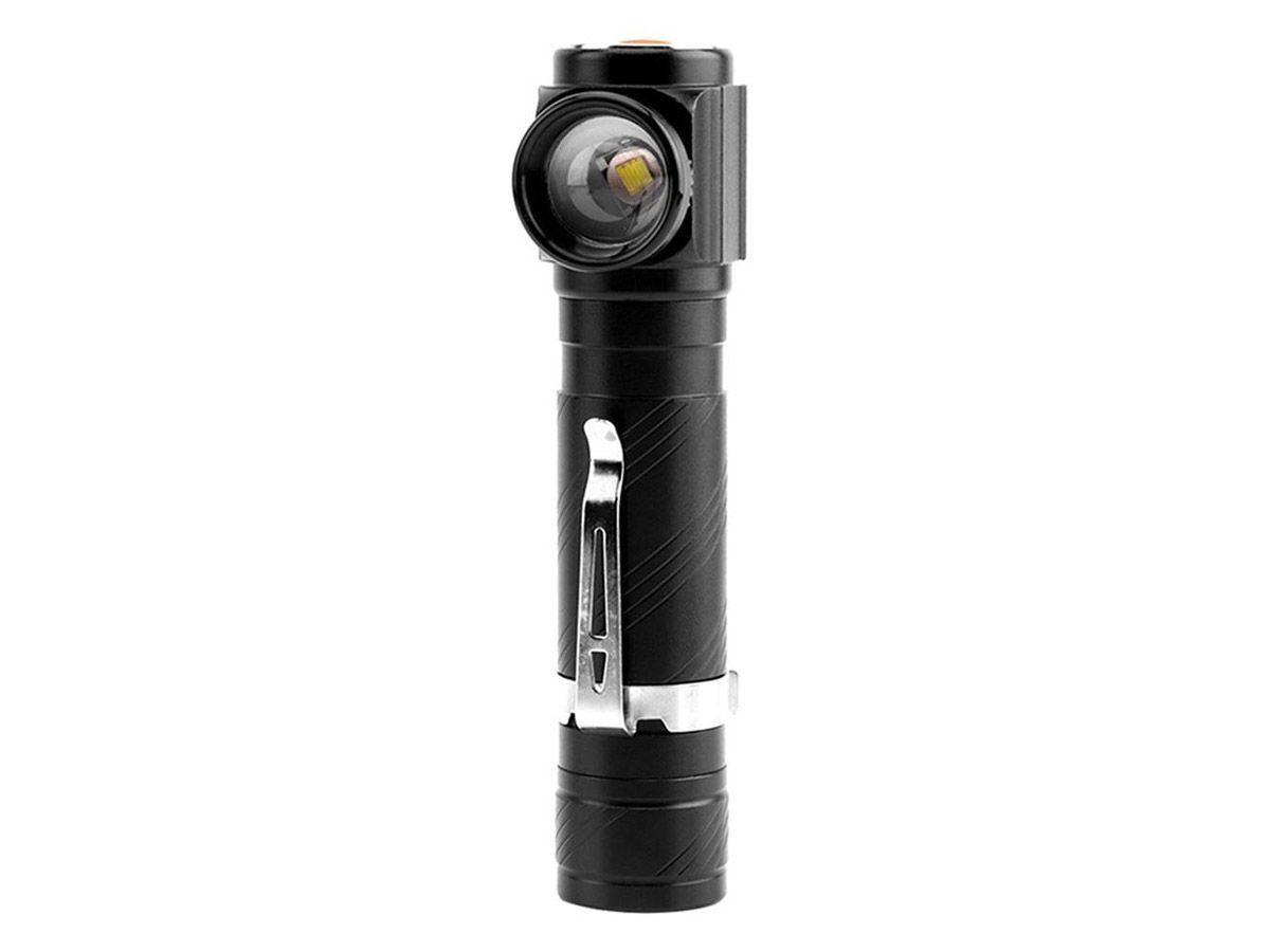 Lanterna de Mão LED USB com imã  (Telescópico)  - Comprando & Pescando