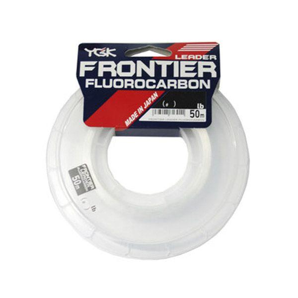 Linha Fluorcarbono YGK Leader Frontier 50mts  - Comprando & Pescando