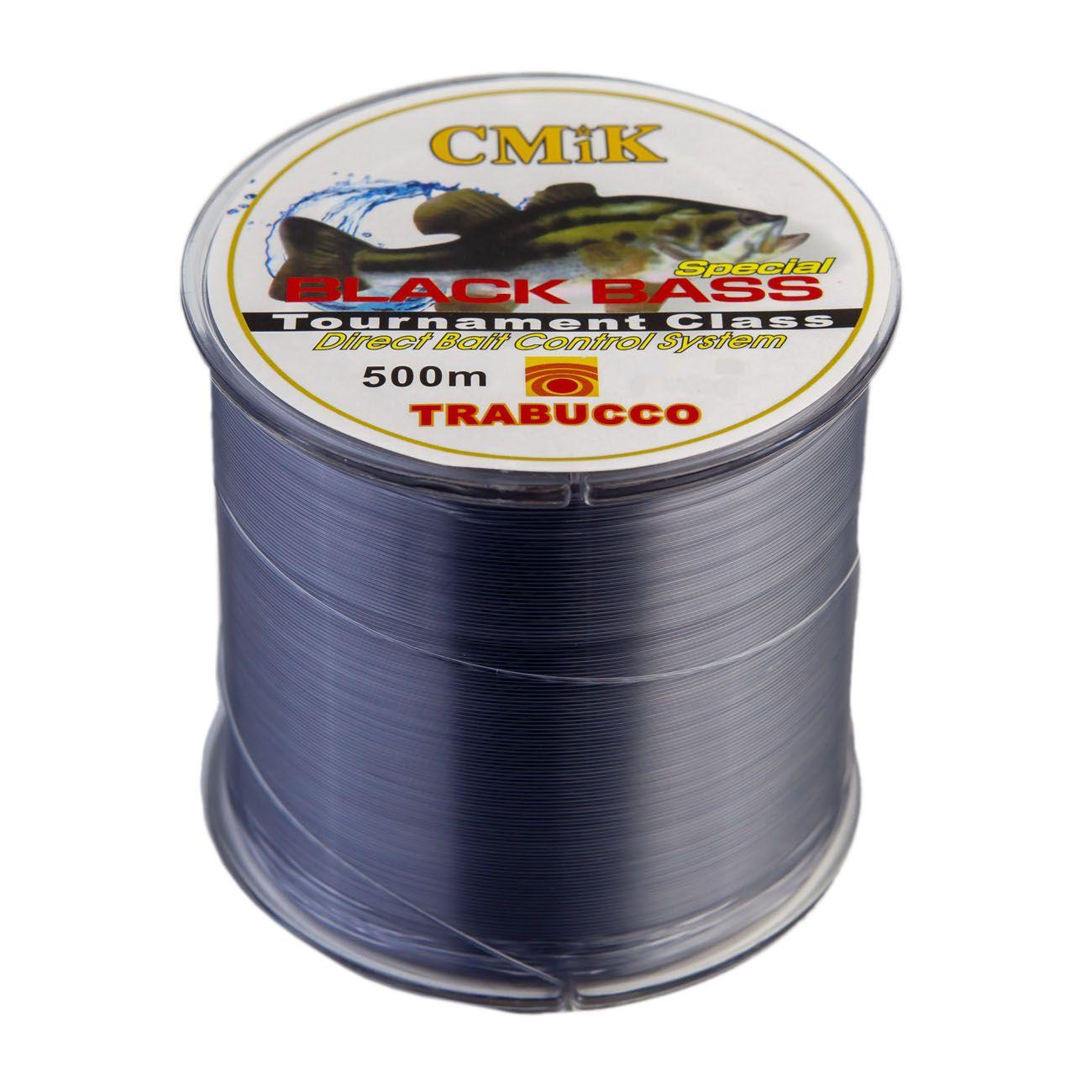 Linha Monofilamento 500mts CMIK (0,20mm - 5,9kg)  - Comprando & Pescando