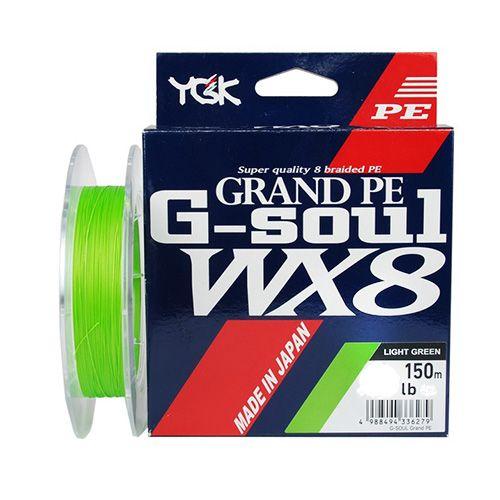 Linha Multifilamento YGK G-Soul Grand PE WX8 150mts  - Comprando & Pescando