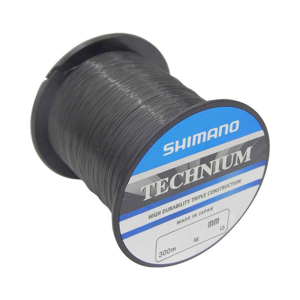Linha Nylon Technium Shimano  - Comprando & Pescando