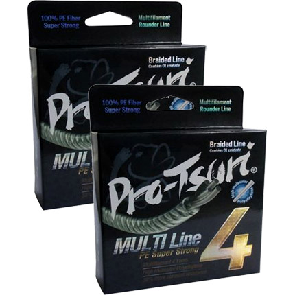 Linha Pro-Tsuri Multifilamento 4 Fios (137mts)  - Comprando & Pescando
