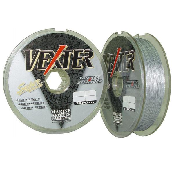 Linha Vexter Multifilamento Cinza   - Comprando & Pescando