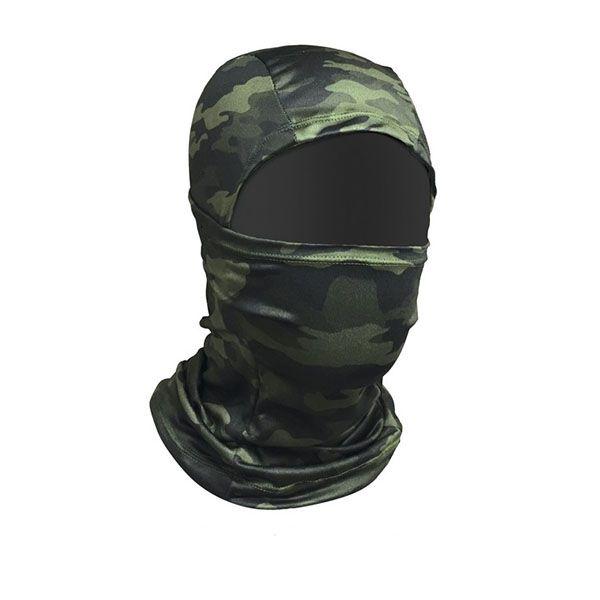 Máscara Balaclava Monster3x Outdoor Camuflagem  - Comprando & Pescando