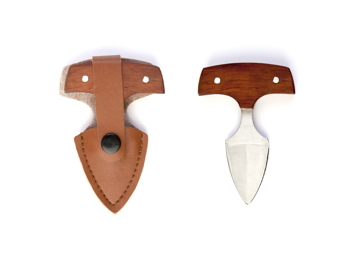 Mini Faca Push Dagger com Bainha TGY1  - Comprando & Pescando