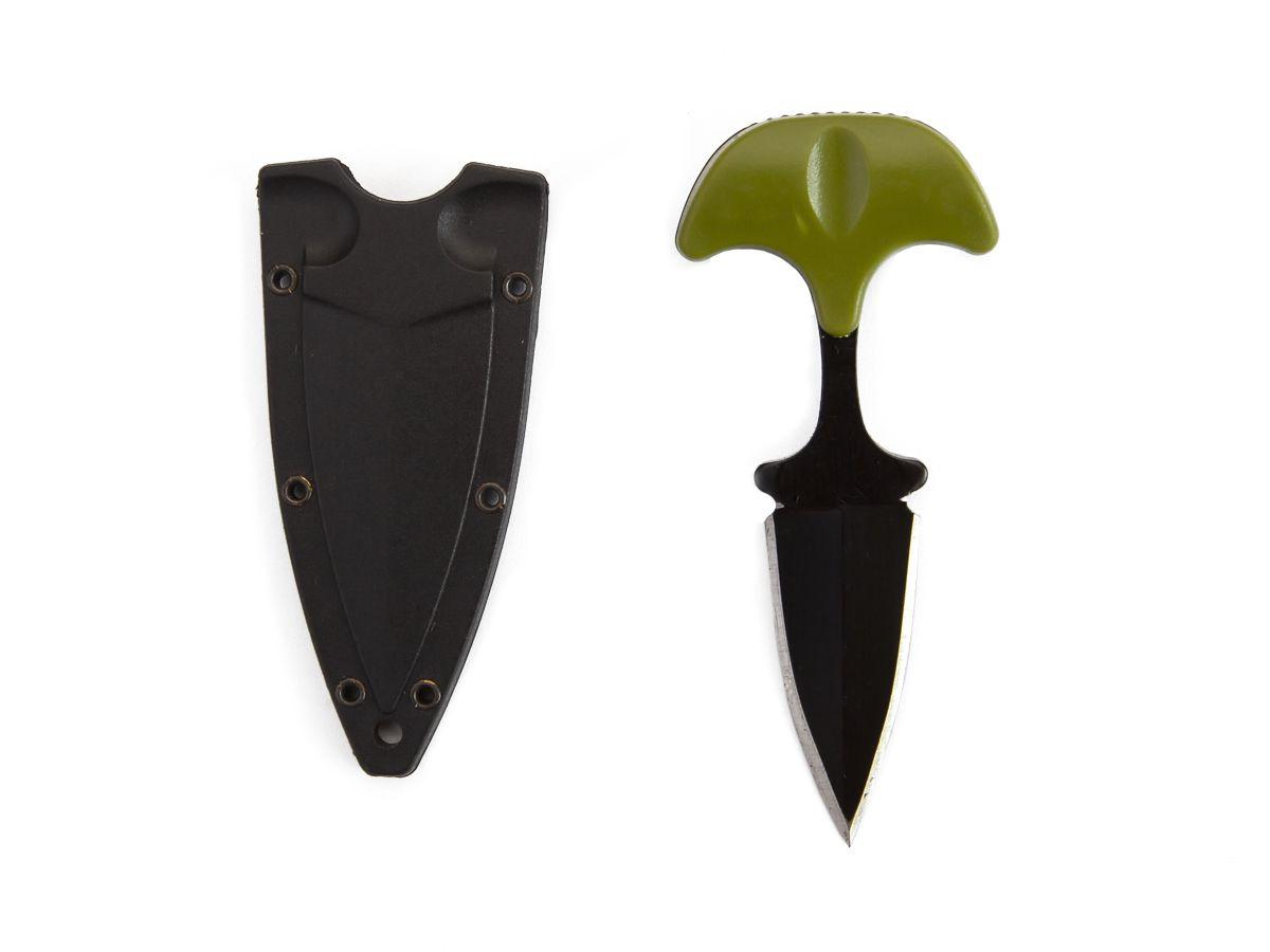 Mini Faca Push T Dagger com Bainha  - Comprando & Pescando