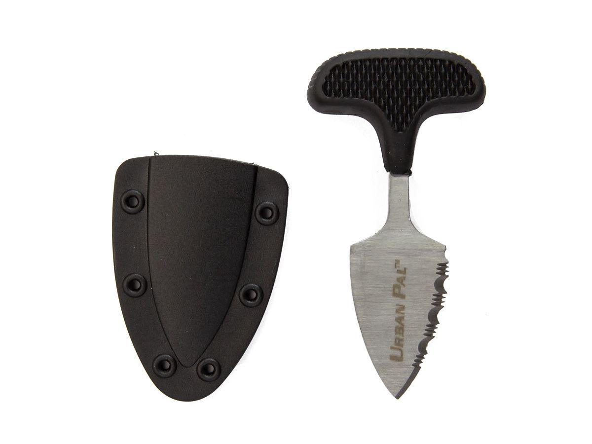 Mini Faca Push T Dagger com Bainha e Cabo Emborrachado 43LS  - Comprando & Pescando
