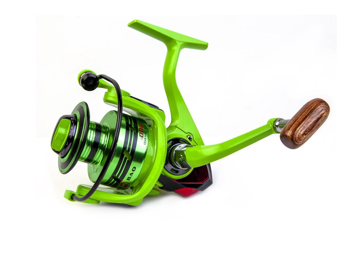 Molinete Debao BF3000 Alumínio - 11 Rolamentos  - Comprando & Pescando