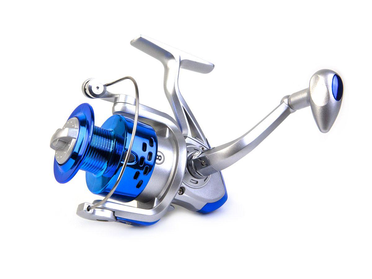 Molinete Debao CS3000 - 8 Rolamentos  - Comprando & Pescando
