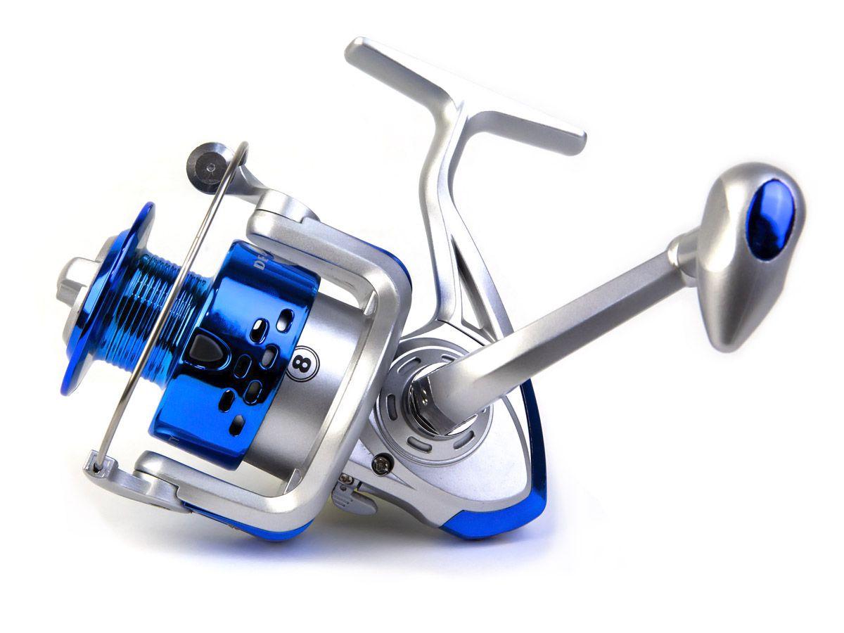 Molinete Debao CS6000 - 8 Rolamentos  - Comprando & Pescando