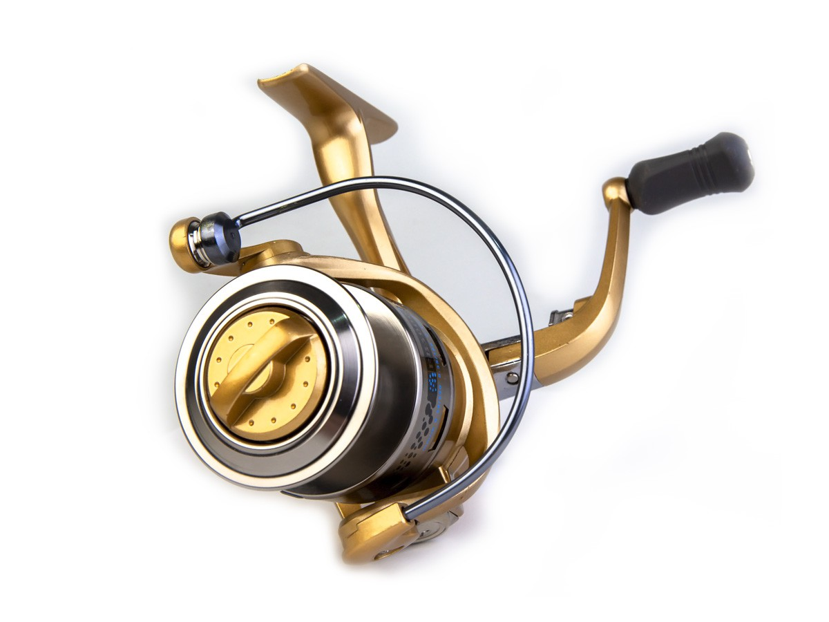 Molinete Fanshun FB 1000 - 10 rolamentos  - Comprando & Pescando
