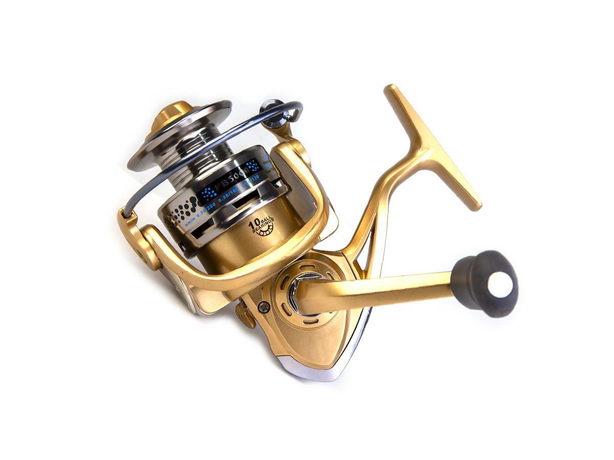 Molinete Fanshun FB 2000 - 10 rolamentos  - Comprando & Pescando