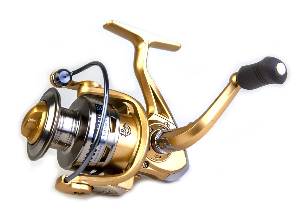 Molinete Fanshun FB 4000 - 10 rolamentos  - Comprando & Pescando