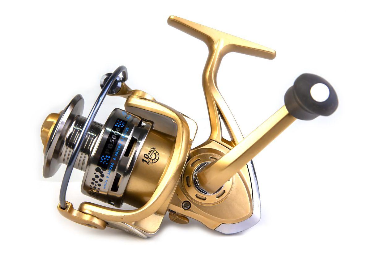 Molinete Fanshun FB 5000 - 10 rolamentos  - Comprando & Pescando