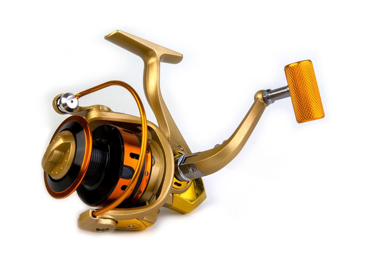 Molinete MR 2000 Alumínio - 10 rolamentos  - Comprando & Pescando