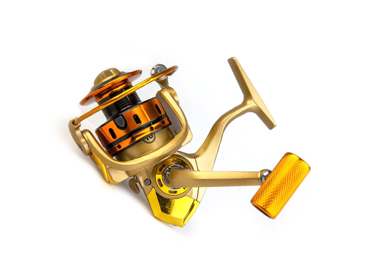 Molinete MR 3000 Alumínio - 10 rolamentos  - Comprando & Pescando