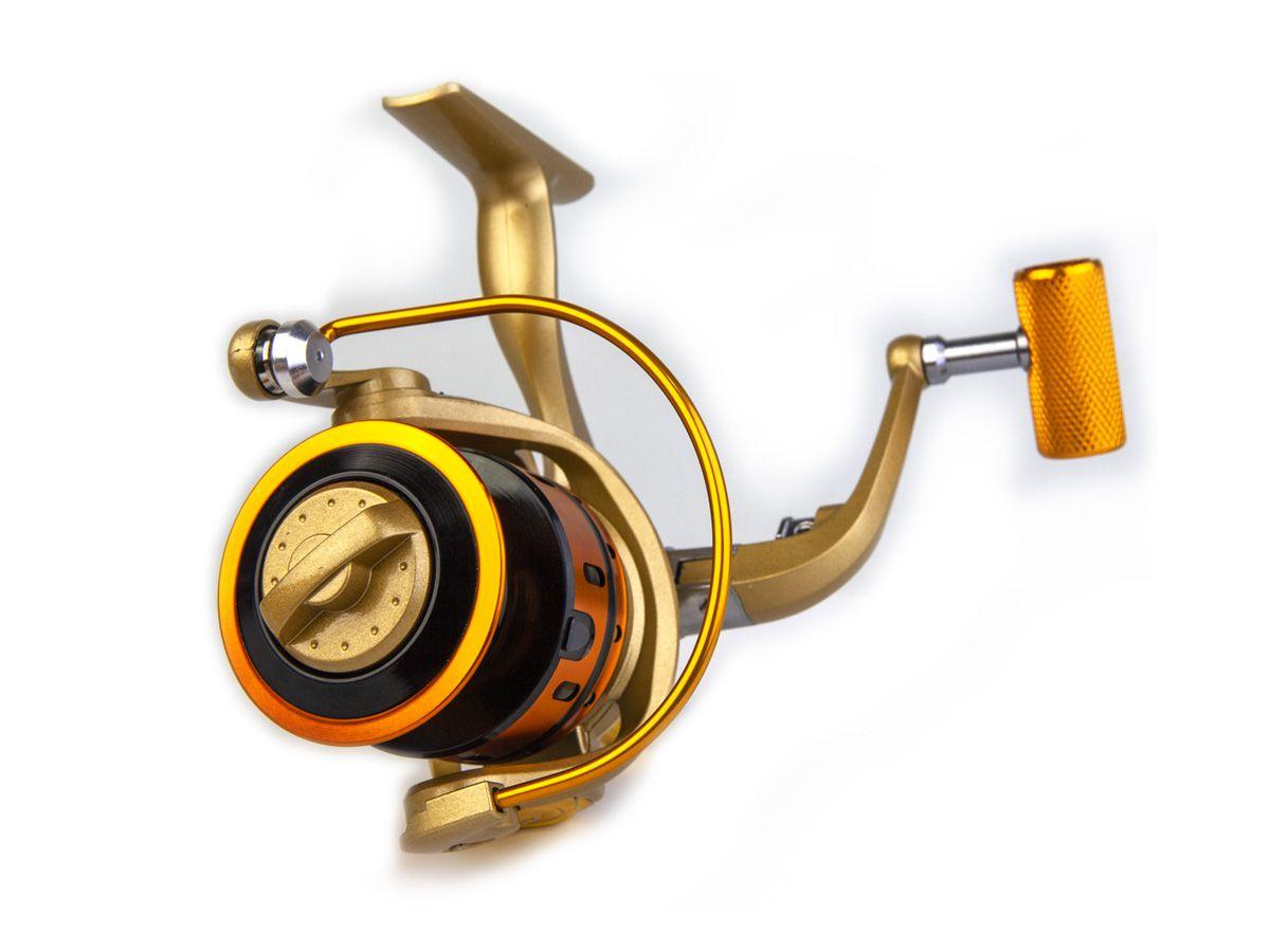 Molinete MR 4000 Alumínio - 10 rolamentos  - Comprando & Pescando