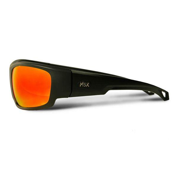 Óculos Polarizado Black Monster Lente Vermelha  - Comprando & Pescando