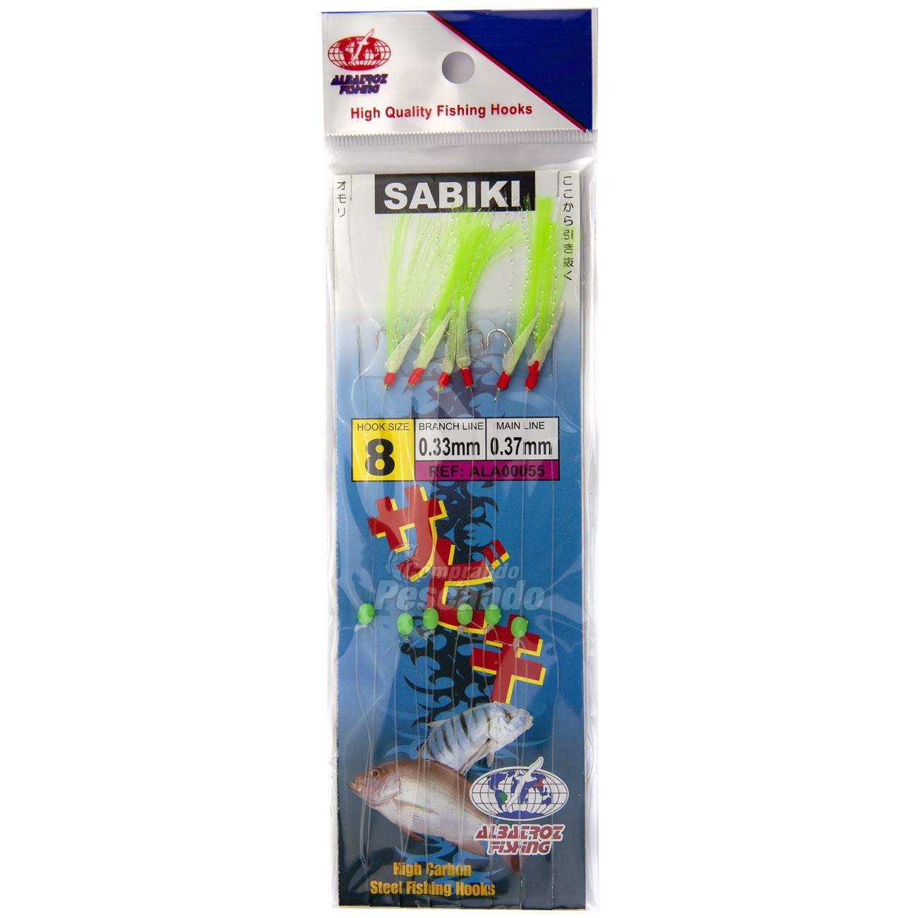 Sabiki Albatroz 055  - Comprando & Pescando