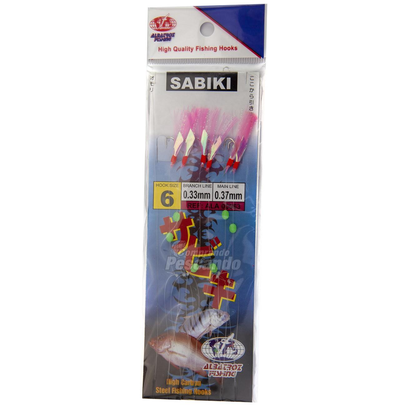 Sabiki Albatroz 063  - Comprando & Pescando