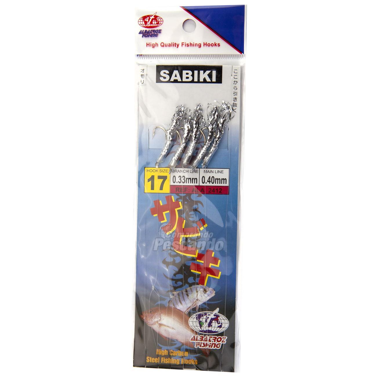 Sabiki Albatroz LQ-2412   - Comprando & Pescando