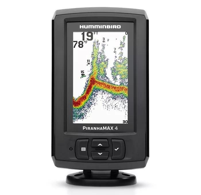 Sonar Humminbird Piranha MAX 4  - Comprando & Pescando