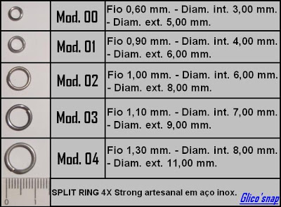 Split Ring 4x Glico