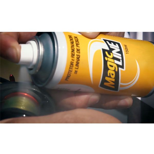 Spray Protetor de Linhas Magic Line- Monster 3x  - Comprando & Pescando