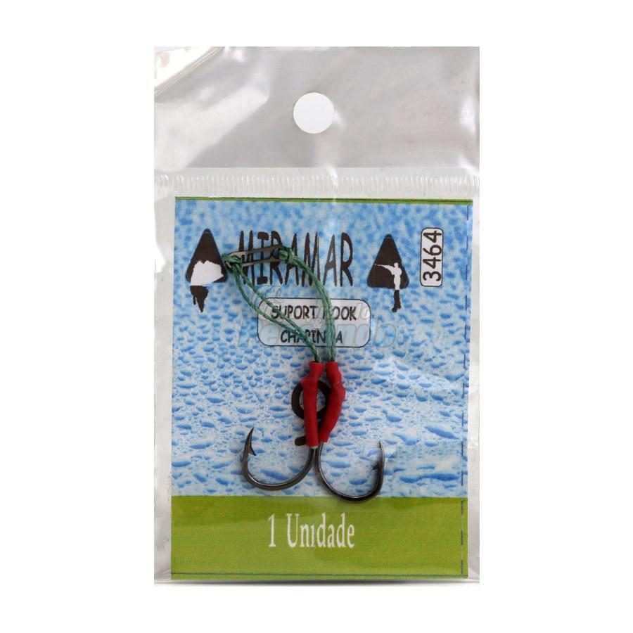 Suporte Hook Chapinha N°9  - Miramar  - Comprando & Pescando