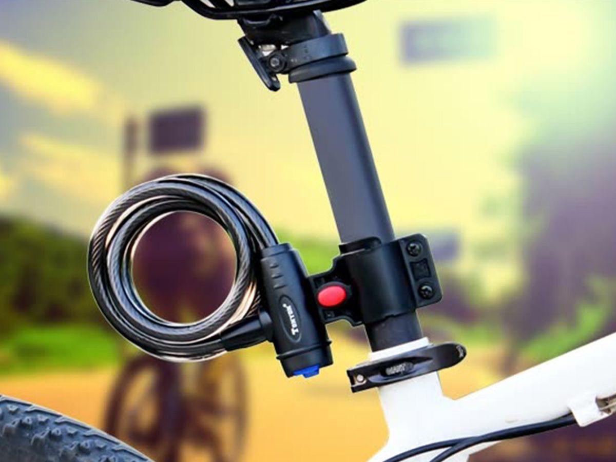 Trava Cadeado Bike com Chave Tonyon  - Comprando & Pescando