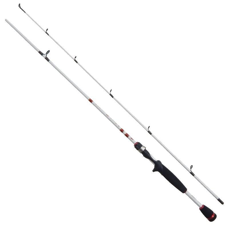 Vara Carretilha Albatroz Viper II (1,80mts / 10-20lbs) 2partes  - Comprando & Pescando