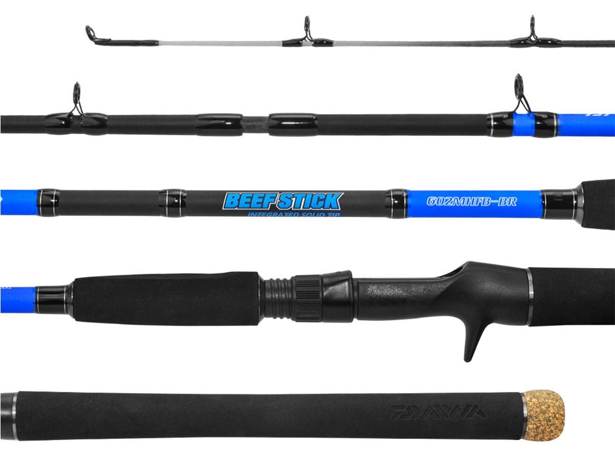 Vara Carretilha Daiwa Beef Stick 20-40lbs 1,98m 2 Partes  - Comprando & Pescando