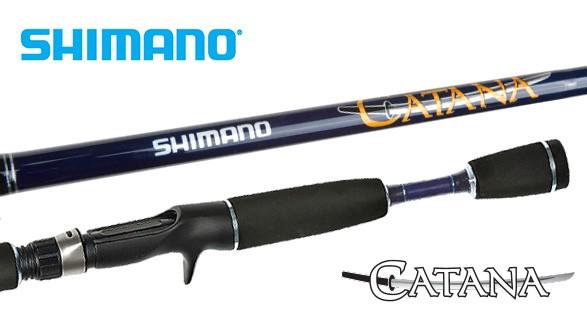 Vara Carretilha Shimano Catana (1,78m - 12lb) Inteiriça  - Comprando & Pescando