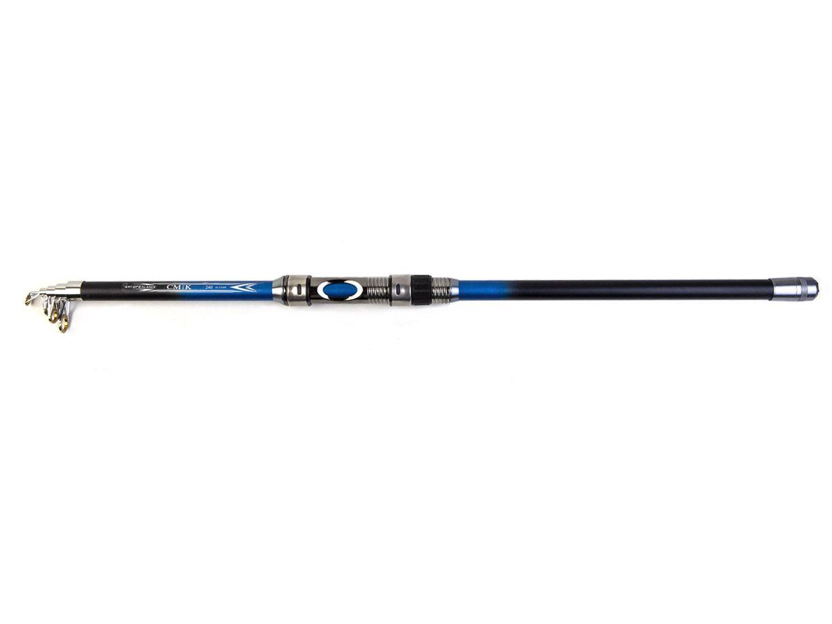Vara Telescópica para Molinete com passador CMIK (2,10mt - 11lbs)  - Comprando & Pescando