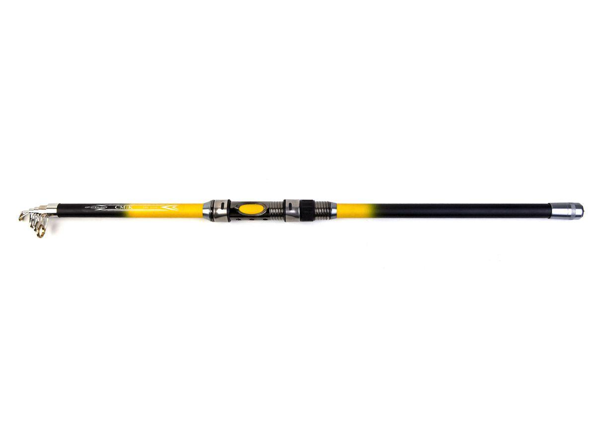 Vara Telescópica para Molinete com passador CMIK (2,40mt - 12lbs)  - Comprando & Pescando